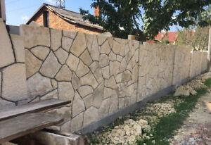 15m2 Bruchsteinplatten Sandstein Hell Verblender  Naturstein Wandverkleidung