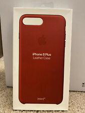 Apple iPhone 8 Plus leather case (Product)Red New In Box!