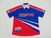 NEW OFFICIAL LUCAS OIL HI-PERFORMANCE TEAM CREW SHIRT DRAG RACING