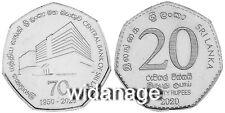 Sri Lanka, Ceylon New Twenty Rupee Seven Sided Coin 20r UNC Free Shipping