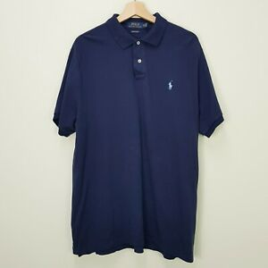 RALPH LAUREN Mens Size XL Custom Slim Fit Polo Shirt