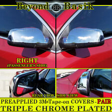2010-2017 Chevrolet Equinox / GMC Terrain Triple Chrome Mirror Covers Overlays