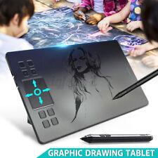 "VEIKK A50 10"" x 4"" Grafiktablett Digital Drawing Tablet Zeichentablet + 1x Stift"