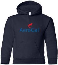 AeroGal Vintage Logo Ecuadorian Airline Hoody