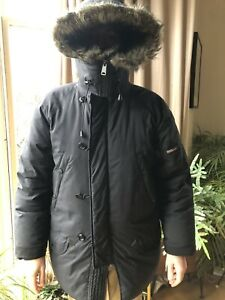 Men's Ralph Lauren Polo Black Down Parka