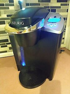 Keurig B60 Special Edition Single Cup Brewing System Coffee Maker Black Silver