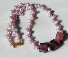 Pearl Handmade Beaded Costume Necklaces & Pendants