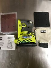 New Ryobi 18-Volt ONE+ 1/4 Sheet Sander (Tool-Only) with Dust Bag Cordless P440