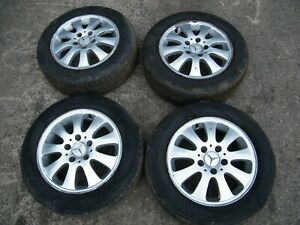 MERCEDES A CLASS W169 - SET OF 15 INCH ALLOY WHEELS & TYRES (SET H)