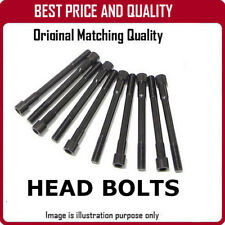 CYLINDER HEAD BOLT (BOX OF 10) FOR VAUXHALL NOVA B618 OEM QUALITY