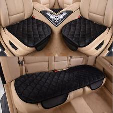3XRückbank Sitzkissen auto  Sitzmatte  Universal Schwarz Autositz Sitzauflage