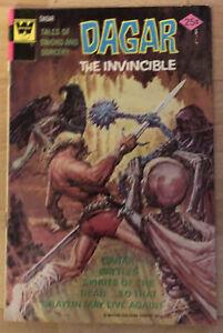 Whitman's Dagar The Invincible #14, Graylin Saved, Scorpio's Army & Thanek App.