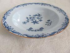 Rorstrand Ostindia Sweden- Blue Flowers - Fruit/Dessert/Sauce Bowl(s)- 8 Avail