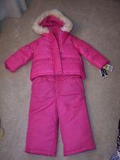 Girl's - 2T - Oshkosh - 2 Piece Snow Suit - Pink - MSRP $100.00