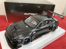 AUTOart 1:18 GT-R NISMO GT3 (Matt Black) 81580 Nissan GTR R35 Diecast Japan