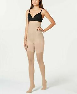 SPANX Women's High-Waisted Shaping Sheers 20217R Color S2 Size E