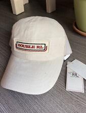 RRL Natural Seed Japanese Twill Trucker Cap Hat Double RL Polo Ralph Lauren