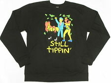 NEW Mens Simpsons Still Tippin Graphic Print Sweatshirt Black Urban Size M M715