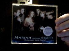 AGAINST ALL ODDS  CD SINGLE VIDEO MARIAH CAREY WESTLIFE POP MUSIC SAVE ££££S