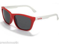 BOLLE retro DAMONE Designer Sunglasses 11289 White Red / TNS Grey