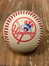 2002 New York Yankees Fotoball w/Yankees Primary Logo Emblem On it