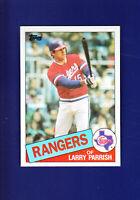 Larry Parrish 1985 TOPPS Baseball #548 (MINT) Texas Rangers