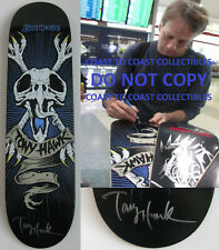 Tony Hawk, signed, autographed, Birdhouse Skateboard Deck. COA with Exact Proof