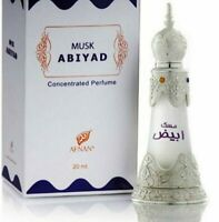 2X Musk Abiyad bY AFNAN 20 ml Concentrated Perfume Oil USA SELLER !