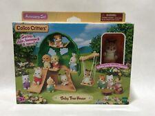 Calico Critters Baby Tree House Accessory Set w/ Luke Hazelnut Chipmunk Epoch