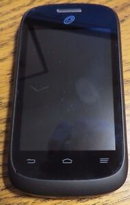 ZTE Z665c Z665 Black Tracfone Fast Shipping Excellent Used Touch Repair Parts