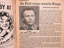 Oct. 24, 1975 Cleveland Press TV Showtime(EVEL  KNIEVEL/GEOFF EDWARDS/IAN OGILVY
