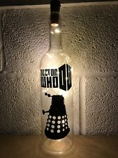 Dr Who Loght Up Bottle, Gift Unique Present Christmas