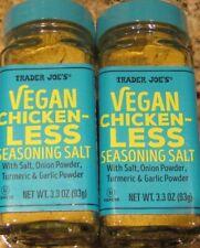 Trader Joe's Vegan Chicken-Less Seasoning Salt Blend Pack of 2
