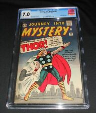 Journey Into Mystery # 89 CGC 7.0  Great Cover