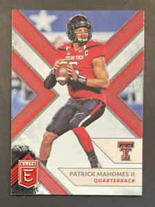 2018 Panini Elite Draft Picks, #79, Patrick Mahomes II ROOKIE, Texas Tech