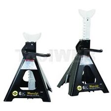 "Omega 32066 Magic Lift Jack Stands, 6 Ton Capacity, 15-3/4"" To 24-3/8"""