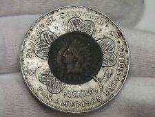 Encased 1901 Indian Head Penny Pan-American Expo. #24