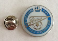 ZENIT ST PETERSBURG FC Football Club RUSSIA Soccer Lapel Pin New