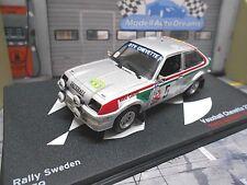 VAUXHALL Chevette 2300 HS Kadett C Rallye Schweden 1979 Airikkala IXO Altay 1:43