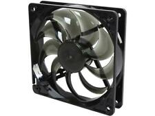 120mm Computer Case Cooling Fan LP4 Adapter Silent Smoke Rosewill