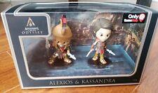Assassins Creed Odyssey: Alexis And Kassandra Collector Figures. GameStop Exclus