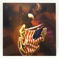 "Infused Kydex Eagle On Flag Print 7.5"" X 7.5"" Sheet FREE SHIPPING"