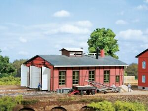 Auhagen 13233 Engine Shed Two Stall IN Tt Kit Brand New