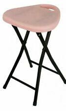 Pink Dawn Folding Kitchen Breakfast Bar Stool Chair