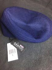 NEW! Kangol Tropic 504 Ventair Newsboy Cabbie Blue Knit Cap Hat Size Large NWT