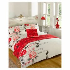 Just Contempo Buttoned Floral Bedding Sets & Duvet Covers