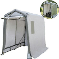 Portable Storage Shed Motorcycle Cover Tool Lawnmower Shed 6x10x7.8 ft