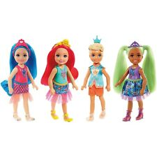 4 Barbie Dreamtopia Chelsea Sprite Dolls *NEW* 4 Dolls