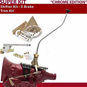 TH350 Shifter Kit 23 Swan E Brake Trim Kit For DEC70
