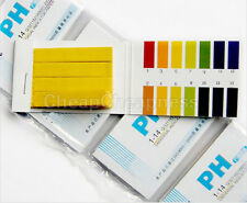 240 Strips Full Range Alkaline Acid pH 1-14 Test Paper Litmus Testing Indicator
